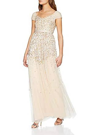 0614e1a70f14 Amelia Rose Embellished Maxi Dress with off The Shoulder Ruched Sleeves