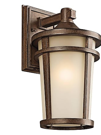 Kichler 49072BST Outdoor Wall 1Lt in Brown Stone