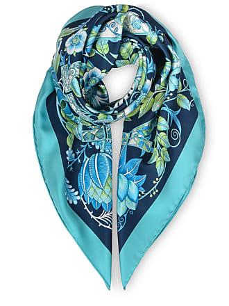 9ba37fb94fc6e Salvatore Ferragamo Silk foulard with floral Gancini print