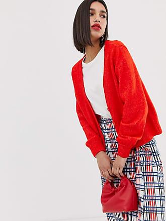 Vero Moda button through cardigan - Red