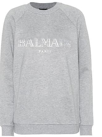 Balmain Exclusive to Mytheresa - Printed cotton sweatshirt