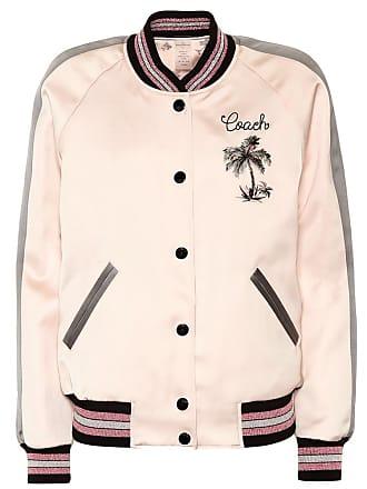 Coach Reversible satin bomber jacket