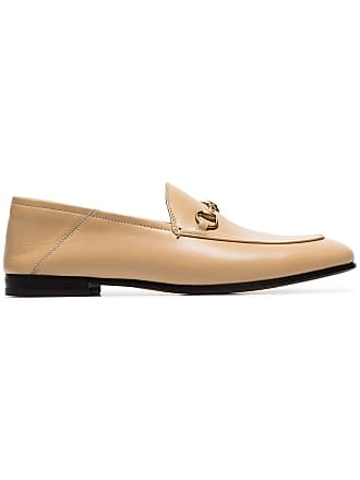 413c5ca8a28 Gucci beige Brixton leather loafers - Neutrals