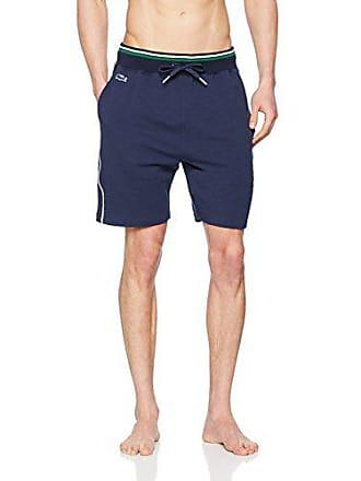 85a2af884f Lacoste Underwear Lounge Short Bas De Pyjama, Bleu (Nachtblau 804), Large  Homme