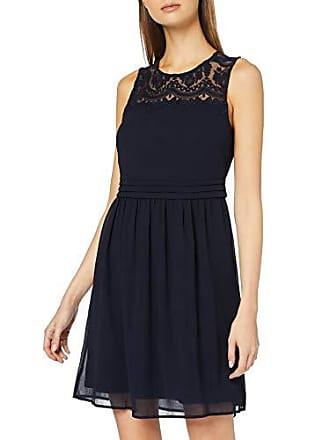 b03e29f89 Vero Moda Vmvanessa SL Short Dress Color Vestido de Fiesta Azul Night Sky