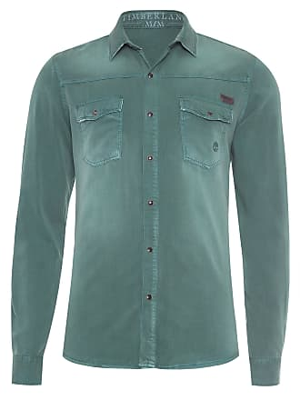 Timberland CAMISA MASCULINA CARGO COLOR DUCK - VERDE