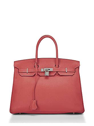 Hermès Birkin 35 Taurillon Clemence Satchel Bag, Orange