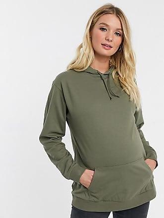 Asos Maternity ASOS DESIGN Maternity ultimate hoodie in khaki-Green