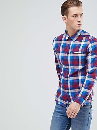 6ee83dc5b6c Esprit Slim Fit Checked Shirt - Blue