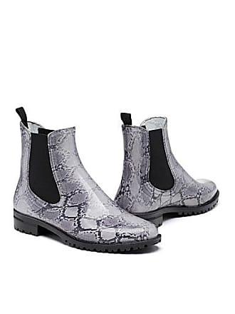 Simons Snakeskin rain boots