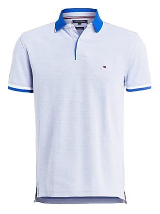 3ffbbb6e4696af Herren T-Shirt gelb. Versand: 3,95 €. Tommy Hilfiger Piqué-Poloshirt  Regular Fit - BLAU/ WEISS