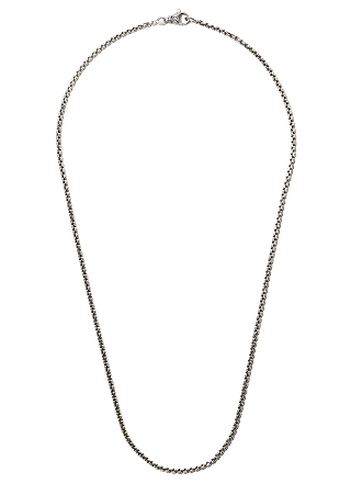 David Yurman 22 length small Box Chain necklace - Ss