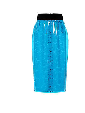 N°21 Coated lace pencil skirt