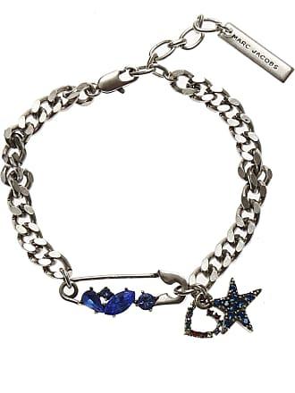 c23327004c5e16 Marc Jacobs Bracelet Femme, Argent Antique, Laiton, 2017, one size