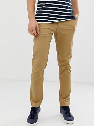 Original Penguin Schmale Stretch-Chino in Beige