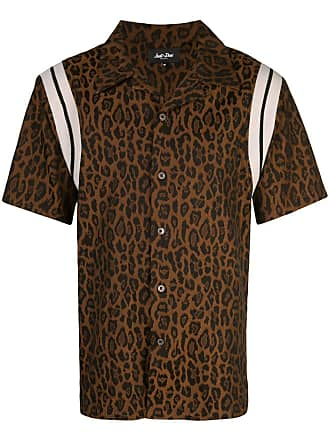 Just Don Camisa com animal print - Marrom