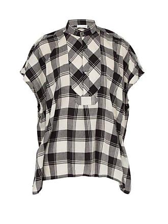 96148e90aa Faith Connexion Sleeveless Checked Cotton Shirt - Mens - Black White