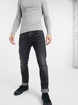 Edwin ED80 - Jeans slim nero slavato