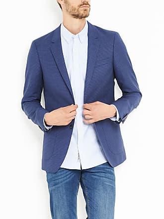 Tommy Hilfiger Veste de costume à motifs texturés en all over slim fit Bleu  Tommy Hilfiger 7da07897dd9