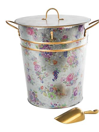 MacKenzie-Childs Flower Market Lidded Ice Bucket & Scoop