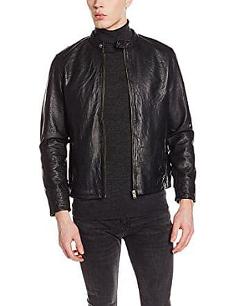 Selected SHNTONY Leather Jacket Noos Giacca Uomo cbd434bd528