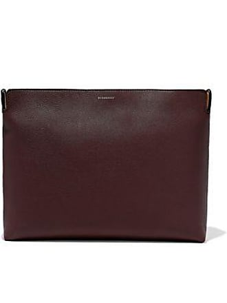 Burberry Burberry Woman Two-tone Pebbled-leather Clutch Antique Rose Size