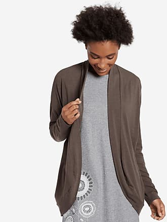 Life is good Womens Supreme Cardigan XS Rich Brown
