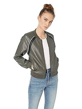 Joe's Womens Paola Bomber, Forest Floor, XS