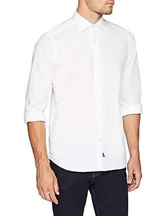 584cac6e18 Scalpers Eton K Shirt White Camisa Casual
