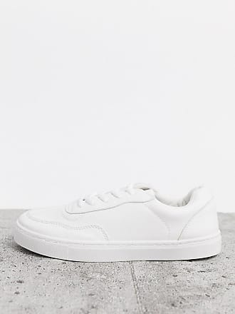 New Look tennis trainers in white