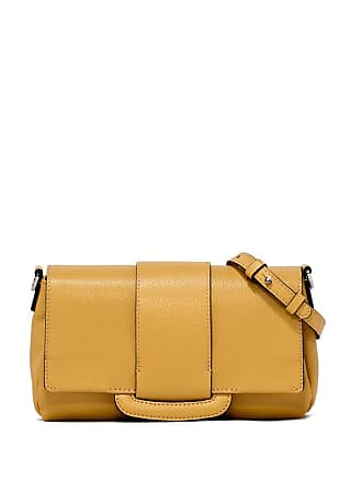 Gianni Chiarini charlotte medium yellow cross body bag