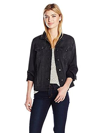 Joe's Womens Anita Jacket, Faded Black, S