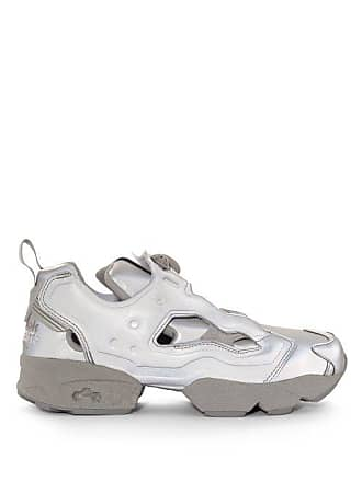 VETEMENTS X Reebok Instapump Fury Trainers - Womens - Grey 7a22eb97c