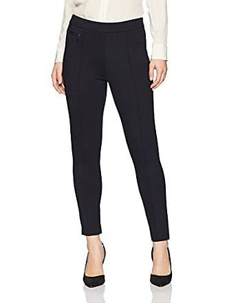 Ellen Tracy Womens Petite Size Legging W/Zip Pocket Detail, Night Sky, 4P