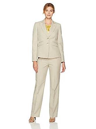 9fe22f55ef Le Suit Womens Glazed Melange 2 Button Notch Lapel Pant Suit W cami