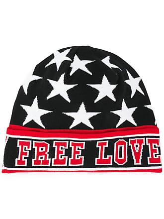 Dolce & Gabbana Chapéu de tricô free love - Preto