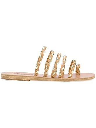 08e7ffc53849 Ancient Greek Sandals woven open-toe sandals - Neutrals