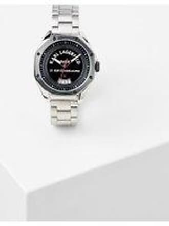 Karl Lagerfeld RUE ST-GUILLAUME STAINLESS STEEL OCTAGON WATCH