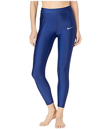 69edede8de7850 Nike Power Speed 7/8 Tights (Blue Void/Reflective Silver) Womens Workout