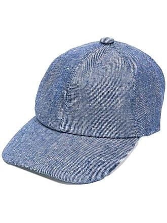 Brunello Cucinelli denim hat - Azul