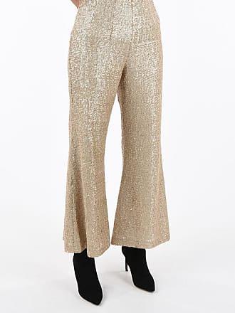 True Royal Pantalone HOLLY in Paillettes Boot Cut taglia 42