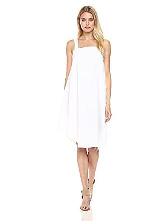 Trina Turk Womens Rosabell Bow Back Tank Dress, White XS