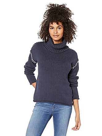 Rip Curl Juniors Leah Roll Neck Sweater, Navy, XS
