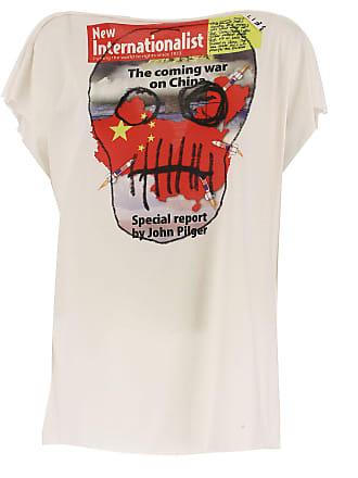 f9a41e9c9a Vivienne Westwood T-shirt Femme Pas cher en Soldes, Blanc, Coton, 2017