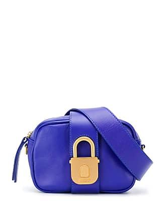 Just Cavalli Pochete com cadeado - Azul