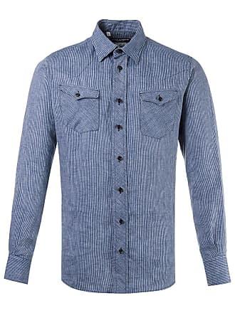 Dolce & Gabbana Camisa listrada - Azul