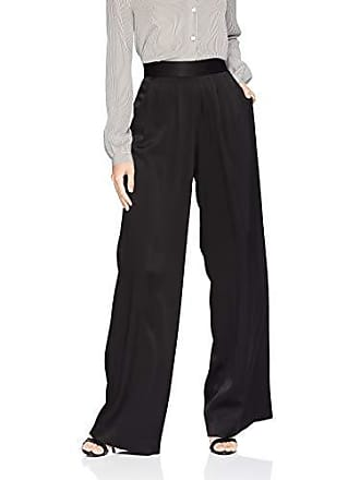 Ramy Brook Womens IRIS Wide Leg Pant, Black 8