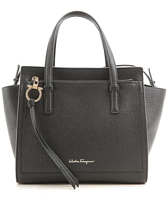 de3666dcca Salvatore Ferragamo Borsa Shopper da Donna On Sale, Nero, pelle, 2017, one