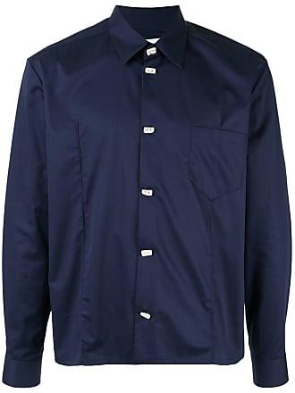 Namacheko Camisa com botões - Azul