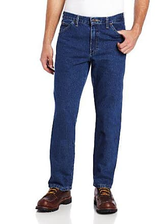 Dickies Mens Relaxed Fit Jean, Indigo Blue, 34x34